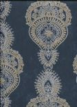 Indo Chic Wallpaper G67387 By Galerie